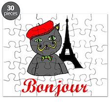 Bonjour Paris Puzzle