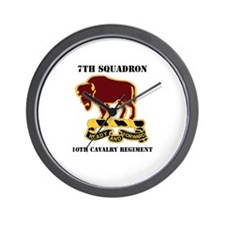 DUI - 7th Sqdrn - 10th Cavalry Regt with Text Wall