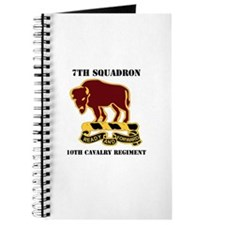 DUI - 7th Sqdrn - 10th Cavalry Regt with Text Jour