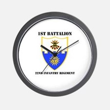 DUI - 1st Bn - 22nd Infantry Regt with Text Wall C