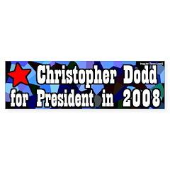 Senator Dodd for President 2008 bumpersticker