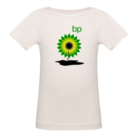BP Oil... Puddle Organic Baby T-Shirt