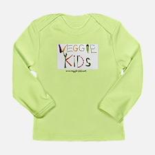 veggie kids vegetables Long Sleeve T-Shirt