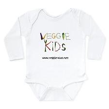 Unique Veggie kids Long Sleeve Infant Bodysuit