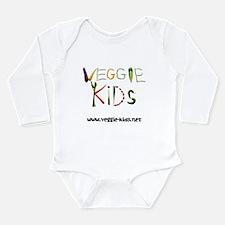 Veggiekids Long Sleeve Infant Bodysuit