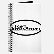 I Can't Keep a Secret Journal