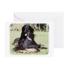Afghan Hound AA017D-115 Greeting Card