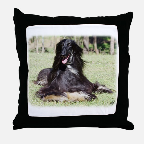 Afghan Hound AA017D-115 Throw Pillow