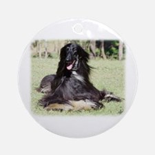 Afghan Hound AA017D-115 Ornament (Round)