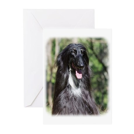 Afghan Hound AA017D-119 Greeting Cards (Pk of 20)