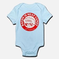 Bacon Is Meat Candy Infant Bodysuit