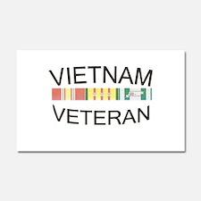 Funny Vietnam veterans Car Magnet 20 x 12
