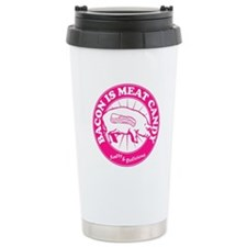 Bacon Is Meat Candy Travel Mug