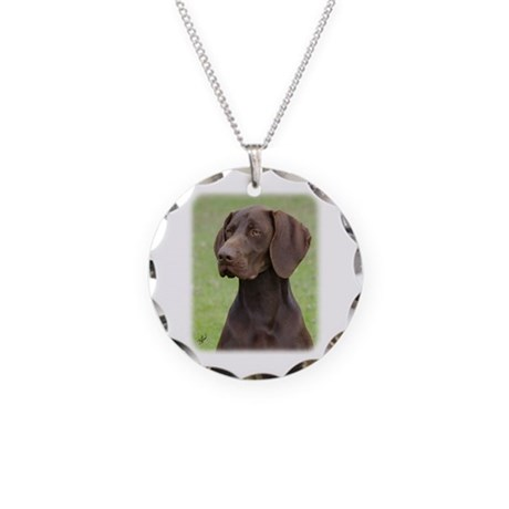 German Shorthaired Pointer AA004D-019 Necklace Cir