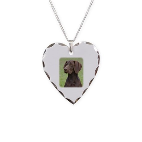 German Shorthaired Pointer AA004D-019 Necklace Hea