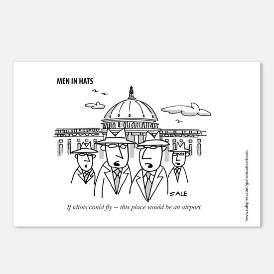 Cute Politics Postcards (Package of 8)