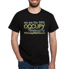 Occupy Newcastle Upon Tyne T-Shirt