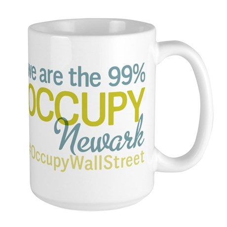 Occupy Newark Large Mug