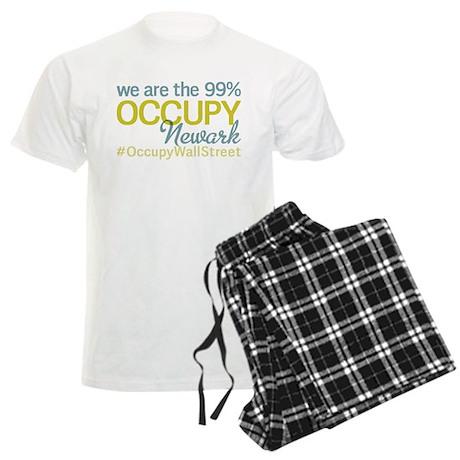 Occupy Newark Men's Light Pajamas