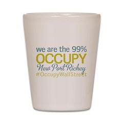 Occupy New Port Richey Shot Glass