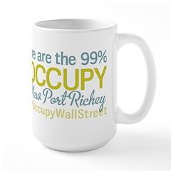 Occupy New Port Richey Large Mug