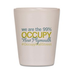 Occupy New Plymouth Shot Glass