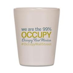 Occupy New Mexico Shot Glass