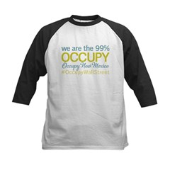 Occupy New Mexico Kids Baseball Jersey