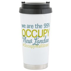 Occupy New London Stainless Steel Travel Mug