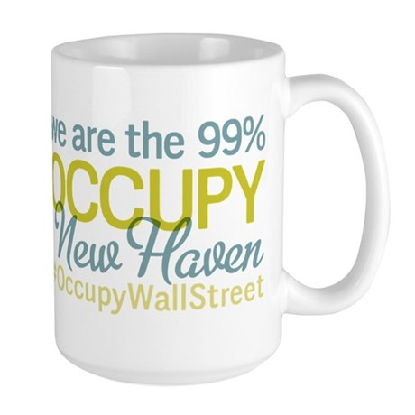 Occupy New Haven Large Mug