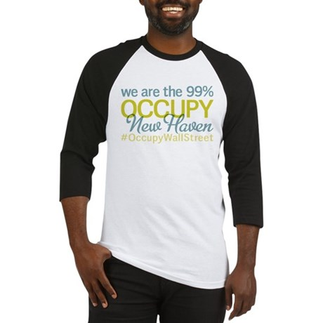 Occupy New Haven Baseball Jersey