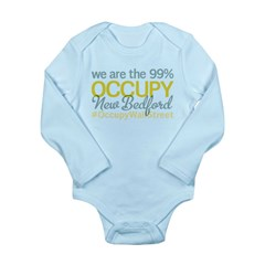 Occupy New Bedford Long Sleeve Infant Bodysuit