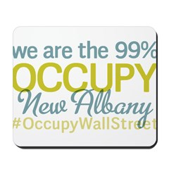 Occupy New Albany Mousepad