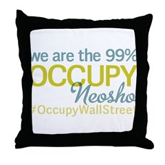 Occupy Neosho Throw Pillow