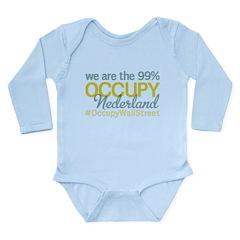 Occupy Nederland Long Sleeve Infant Bodysuit
