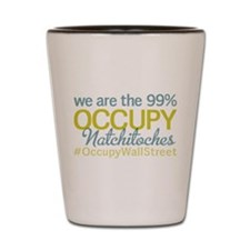 Occupy Natchitoches Shot Glass