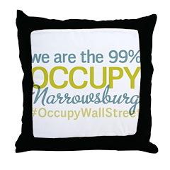Occupy Narrowsburg Throw Pillow