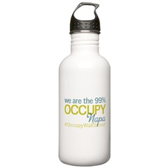 Occupy Napa Water Bottle