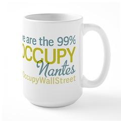 Occupy Nantes Large Mug