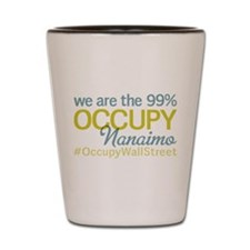 Occupy Nanaimo Shot Glass