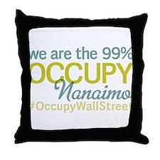 Occupy Nanaimo Throw Pillow