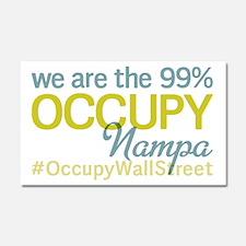 Occupy Nampa Car Magnet 20 x 12