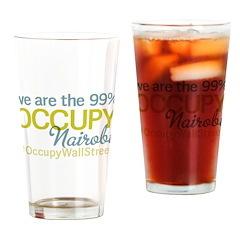 Occupy Nairobi Drinking Glass