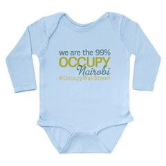 Occupy Nairobi Long Sleeve Infant Bodysuit