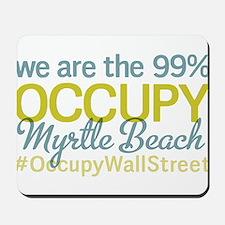 Occupy Myrtle Beach Mousepad
