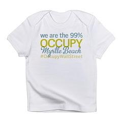 Occupy Myrtle Beach Infant T-Shirt