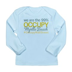 Occupy Myrtle Beach Long Sleeve Infant T-Shirt