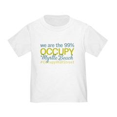Occupy Myrtle Beach Toddler T-Shirt