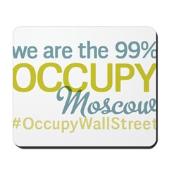 Occupy Moscow Mousepad