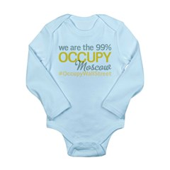Occupy Moscow Long Sleeve Infant Bodysuit